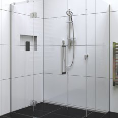 Acclaim Tile Showers Chrome - Channel Drain