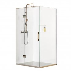 Linea Quattro Rio 2 Wall Shower 1100 x 900