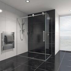 Ravello Tile Showers - Chrome