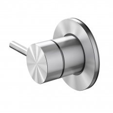 Turoa Shower Diverter - Stainless Steel