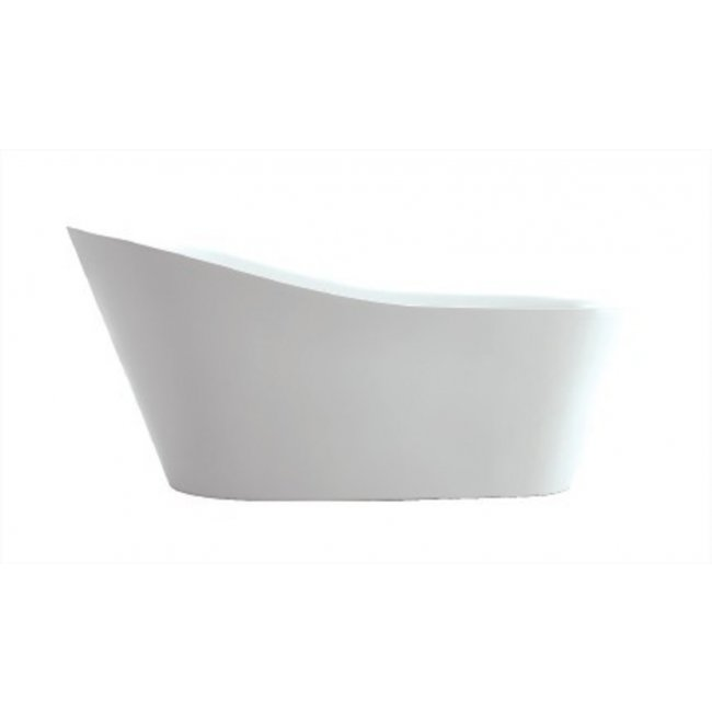 42nd Avenue Freestanding Slipper Bath in Gloss White