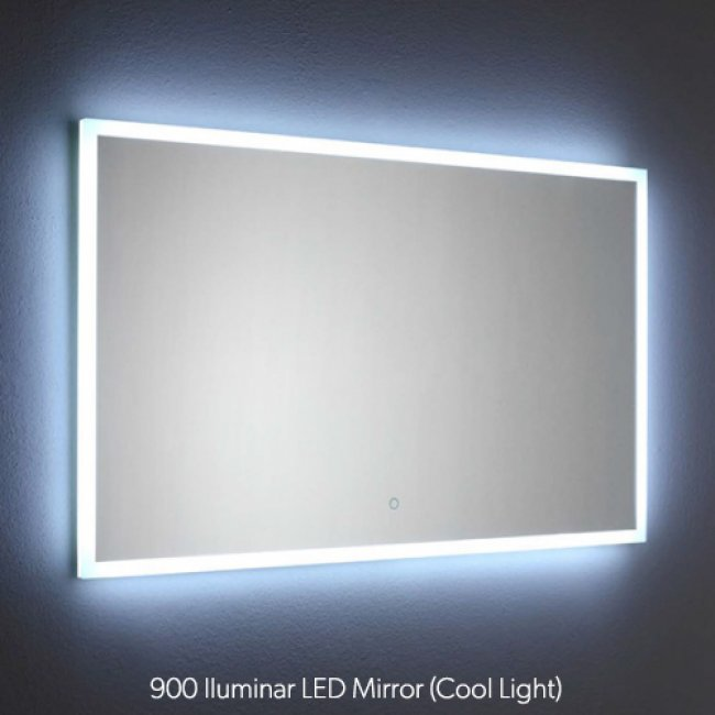 Iluminar LED Mirror with Demister