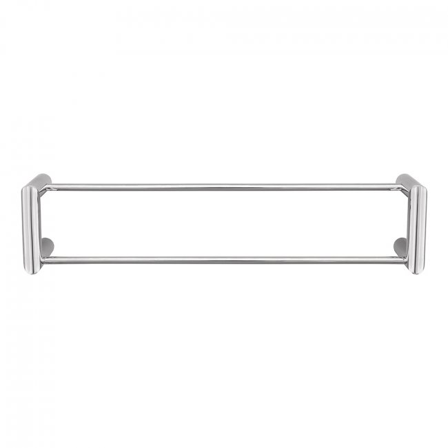 Round Double Towel Rail