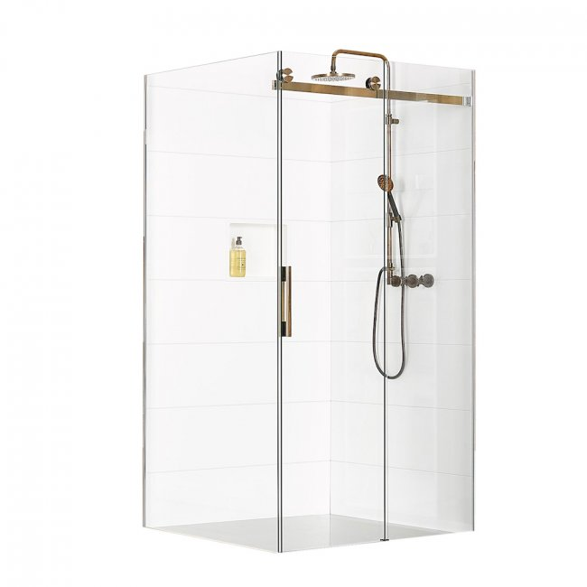 Linea Quattro Toledo 2 Wall Shower 1800 x 900