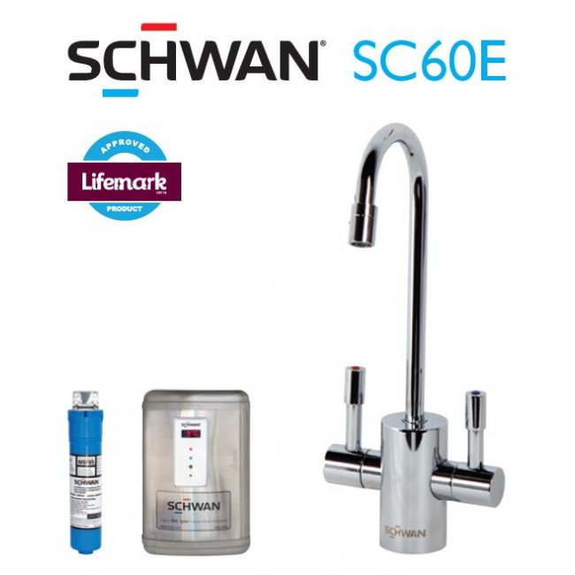 Schwan SC60EMB - Boiling and Ambient Filtered Water on Tap - Matte Black