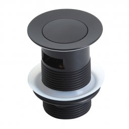 603 Series Pop Up Waste 32mm (With Overflow) - Black
