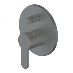 Astro Shower/Bath Diverter Mixer - Gunmetal