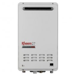 Rheem 27L Continuous Flow External Gas Water Heater