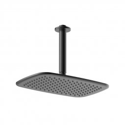 Axiss Rain Head Ceiling Mounted Black 180mm
