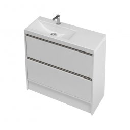 City Slim Floor 900 Left or Right Basin, 2 Drawers