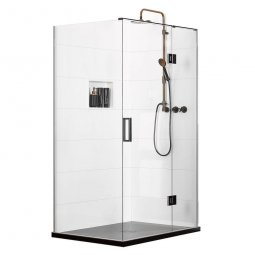 Easy Tile Encapsulator (RH) 2 Wall Shower 1200 x 900