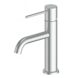 Gisele Basin Mixer - Brushed Stainless