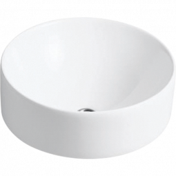Chalice Vessel Basin White