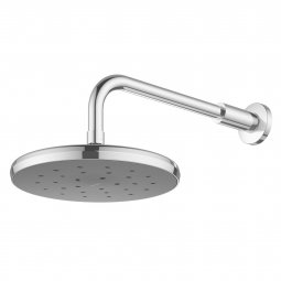 Kiri MKII Satinjet Overhead Shower on Wall Arm
