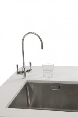 Schwan SC80ECH - Chilled Sparkling Filtered Water on Tap - Chrome