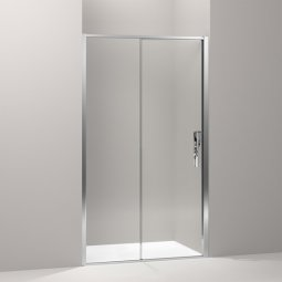 Torsion Enclosure Alcove Sliding Door Showers
