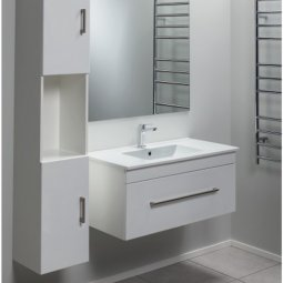 Cashmere Slim Single Drawer Vanity