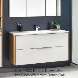 Nikau Double Drawer Vanity