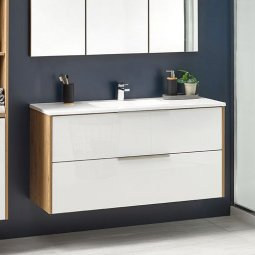 Nikau Double Drawer Vanity 1200