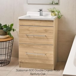 Statesman Double Drawer Vanity