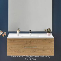 Statesman Single Drawer Vanity