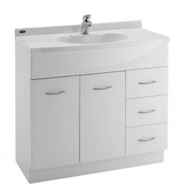Sapphire Durastone Vanity 900mm Single Bowl (5 Handles)