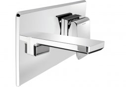 Kiri Wall Mount Single Lever Mixer