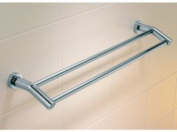 Cosmo 600mm Double Towel Rail