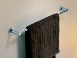Cosmo 600mm Single Towel Rail