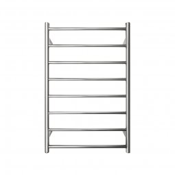 Executive 8 Bar Round Heated Towel Rail