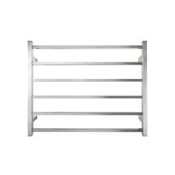Executive 6 Bar Wide Square Heated Towel Rail