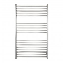Premium 18 Bar Wide Square Heated Towel Rail