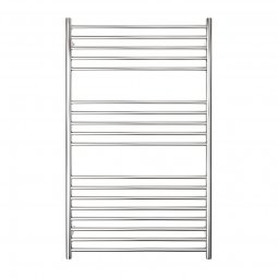 Premium 18 Bar Wide Round Heated Towel Rail